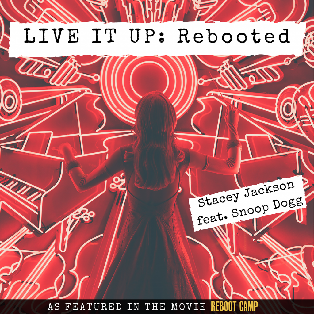 Stacey Jackson live It Up Rebooted Album Cover